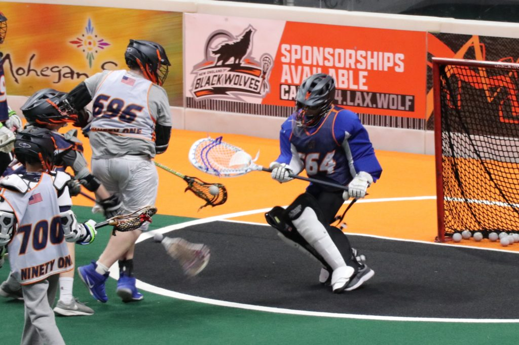 2024 Flash Takes Over New England Black Wolves Game – Team