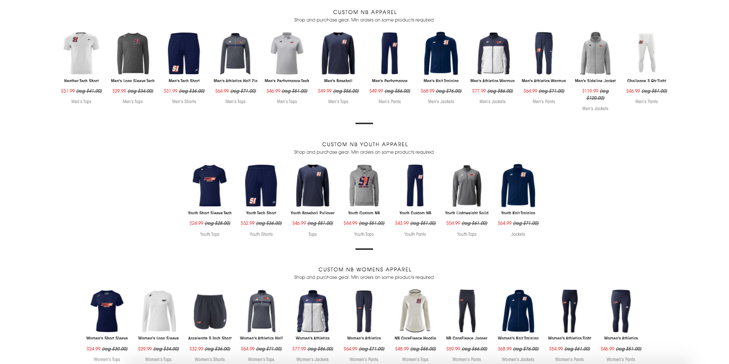 NB Boys Online Store 1